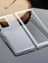 cheap -ultra-thin pc all-inclusive hard shell compatible for samsung galaxy z fold 2 case,ultralight matte armor, full protection cover, scratch-resistant protective cases (clear)