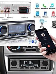 abordables -Bluetooth Vintage Car Radio MP3 Player Stereo USB AUX Classic Car Stereo Audio Lecteur MP3 de voiture MP3 / Prise en charge SD / USB / touche pour Universel Soutien