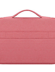 cheap -Unisex Oxford Cloth Laptop Bag Zipper Solid Color Daily Office & Career Dark Grey Pink Light Grey