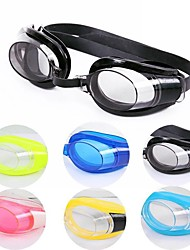 cheap -Swimming Goggles Waterproof Anti-Fog For Adults' Mixed Materials Resin Whites Transparent