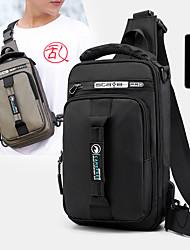cheap -men fashion multifunctional chest bag shoulder bag backpack