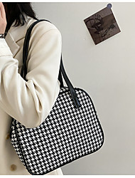 cheap -Women's Bags Top Handle Bag Hobo Bag Date Office & Career 2021 Handbags Black Brown