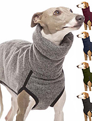 cheap -fashion dog fleece vest jacket winter warm small medium large dog clothes indoor and outdoor use