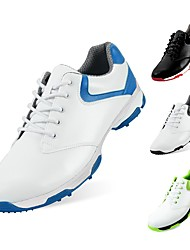 cheap -PGM Men's Golf Shoes Shock Absorption Breathable Cushioning Wearproof Low-Top Golf Fall Winter Spring Red black Black Blue / White Green