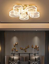 cheap -4-Light 5-Light 8-Light 40 cm Unique Design Flush Mount Lights Metal Acrylic LED Nordic Style 220-240V