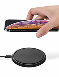 cheap -WAZA 10W 7.5W 5W Wireless Charger Fast Wireless Charging Pad For Qi-enabled Smart Phones For iPhone 11 SE 2020 For Samsung Galaxy Note 20 Huawei P40 Pro Xiaomi Mi10