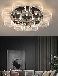 cheap -3-Light 5-Light 7-Light 50 cm Line Design Flush Mount Lights Metal Stylish LED Nordic Style 110-120V 220-240V