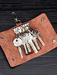 cheap -Unisex Bags Cowhide Coin Purse Plain Daily Outdoor 2021 Black Brown