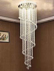 cheap -9-Light 60 cm Unique Design Geometric Shapes Single Design Chandelier Metal Layered Artistic Style Modern Style Chrome Artistic Modern 110-120V 220-240V