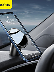 cheap -BASEUS Phone Holder Stand Mount Car Dashboard Car Cup Holder Phone Holder Magnetic Type Outlet Type Vehicle Center Console Metal Phone Accessory iPhone 12 11 Pro Xs Xs Max Xr X 8 Samsung Glaxy S21