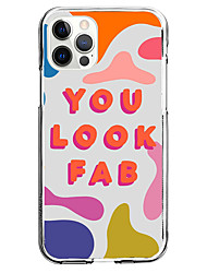 cheap -you look fab instagram style fashion case for apple iphone 12 iphone 11 iphone 12 pro max unique design protective case shockproof back cover tpu