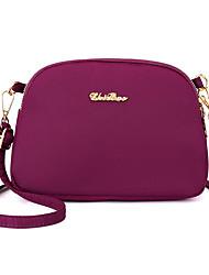 cheap -women nylon waterproof solid casual fashion shoulder bag shell bag clutch bag crossbody bag
