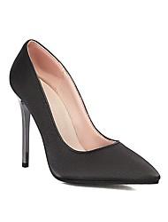 cheap -Women's Wedding Shoes Stiletto Heel Pointed Toe Wedding Pumps Wedding Daily PU Synthetics Almond Black Gray
