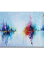 cheap -100% Hand-Painted Contemporary Art Oil Painting On Canvas Modern Paintings Home Interior Decor Abstract Art Painting Large Canvas Art(Rolled Canvas without Frame)