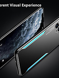 cheap -Aluminum Alloy TPU Phone Case For iPhone 12 12Pro 12Pro Max iPhone SE 11 11Pro 11Pro Max X Xs Xr Xs Max Unique Design Matte Back Cover Protective Case