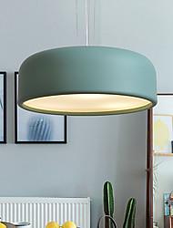 cheap -3-Light 35 cm Single Design Pendant Light Metal Painted Finishes Modern Nordic Style 110-120V 220-240V