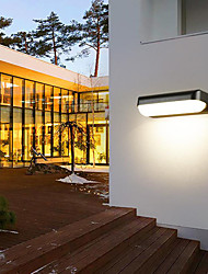 cheap -Outdoor Wall Lights Waterproof Wall-mounted Outdoor Wall Lights Outdoor Acrylic Wall Light 110-120V 220-240V 20 W