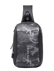 cheap -men fashion casual chest bag shoulder bag crossbody bag