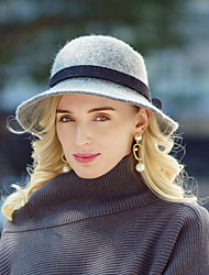 cheap -Headwear Casual / Daily Wool / Acrylic Hats with Bowknot 1pc Casual / Daily Wear Headpiece