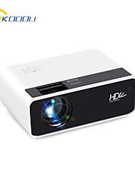 cheap -KOOOU D60 Mini LED Projector 2800 Lumens 1080p Supported Resolution Multiple Ports Built-in Speaker Portable Smart Home Theater Cinema With Remote Control