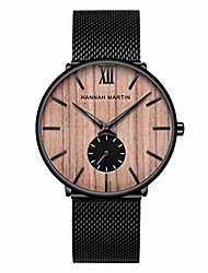 cheap -mens watches ultra-thin minimalist waterproof fashion casual wrist watch for men unisex dress with stainless steel mesh band