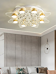 cheap -3-Light 5-Light 8-Light 50 cm Line Design Flush Mount Lights Metal Acrylic LED Nordic Style 110-120V 220-240V