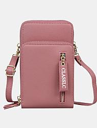 cheap -women 3 card slots 6.5 inch solid phone bag crossbody bag shoulder bag