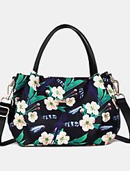 cheap -women fashion flower handbag printed crossbody bag