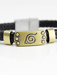 cheap -Jewelry Inspired by Naruto Naruto Uzumaki Cosplay Anime Cosplay Accessories Bracelet Alloy Men's New Halloween Costumes