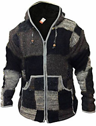 cheap -mens patchwork superwarm jacket