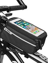 cheap -men and women oxfold waterproof touch screen 6 inch phone bag bicycle riding bag