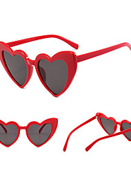 cheap -1pcs Kids Unisex Active / Sweet Heart Glasses White / Black / Red One-Size