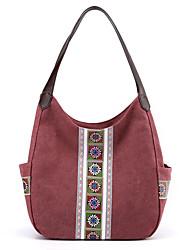 cheap -women large capacity canvas handbag shoulder bag