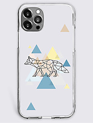 cheap -Graphic Prints Geometry Case For Apple iPhone 12 iPhone 11 iPhone 12 Pro Max Unique Design Protective Case Shockproof Back Cover TPU