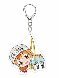 cheap -Anime Cells at Work! Cute Acrylic Keychain Phone Strap Charm(H13)