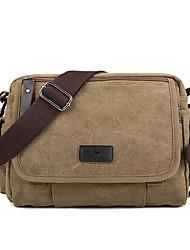 cheap -canvas outdoor travel leisure shoulder men women retro capacity crossbody bag