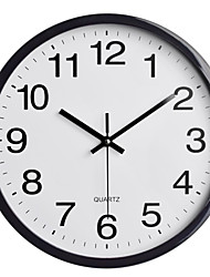 """cheap -dreamsky 12"""" large wall clock, battery operated non-ticking quartz analogy wall clocks for kitchen bedroom living room 35cm*35cm"""