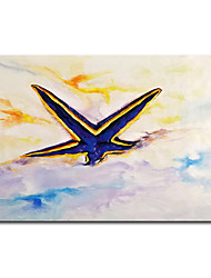 cheap -100% Hand-Painted Contemporary Art Oil Painting On Canvas Modern Paintings Home Interior Decor Abstract Starfish Art Painting Large Canvas Art(Rolled Canvas without Frame)