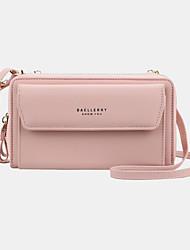 cheap -women 12 card slots large capacity phone bag crossbody bag