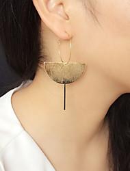 cheap -Women's Stud Earrings Drop Earrings Hoop Earrings Drop Holiday Fashion Birthday Luxury Fashion Punk Trendy Rock Earrings Jewelry Gold For Birthday Street Date Festival 1 Pair