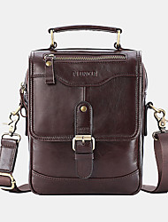 cheap -men genuine leather anti-theft handbag crossbody bag