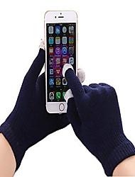 cheap -(Navy Blue Universal Unisex One Size Winter Touchscreen Gloves For Monqi Kids Smartphone