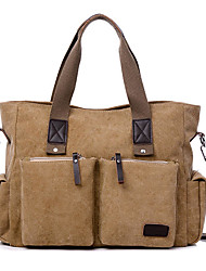 cheap -large capacity men women canvas multifunctional crossbody bag canvas outdoor handbag