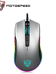 cheap -MOTOSPEED V70 Wired USB Optical Gaming Mouse Multi-colors Backlit 12000 dpi 8 Adjustable DPI Levels 6 pcs Keys 6 Programmable Keys