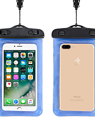 cheap -Unisex Bags PVC Mobile Phone Bag Plain 2021 Daily Going out White Black Blue Yellow