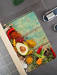 cheap -Bathroom Bath Mats Creative Absorbent Bathroom Rug Coral Velve New Design