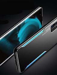 cheap -Aluminium Alloy TPU Phone Case For Huawei P40 Pro P40 Huawei P30 P30 Pro P20 Pro P20 Unique Design Matte Back Cover Case