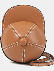 cheap -women faux leather baseball hat shape causl creative shoulder bag crossbody bag
