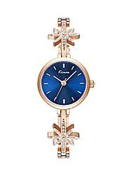 cheap -Luxury Zirconia Snowflake Band Bangle Quartz Watch for Women Laday Rose Gold Watch