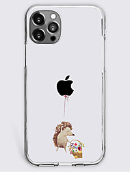 cheap -Cartoon Case For Apple iPhone 12 iPhone 11 iPhone 12 Pro Max Unique Design Protective Case Shockproof Back Cover TPU